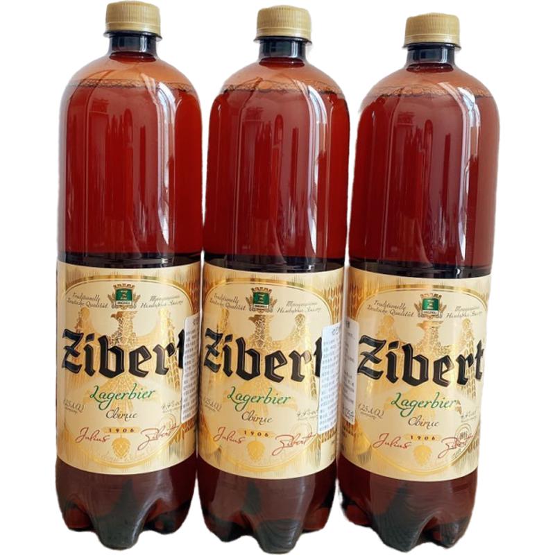 买手白菜团、乌克兰原装进口:切巴特优质啤酒 1.25L